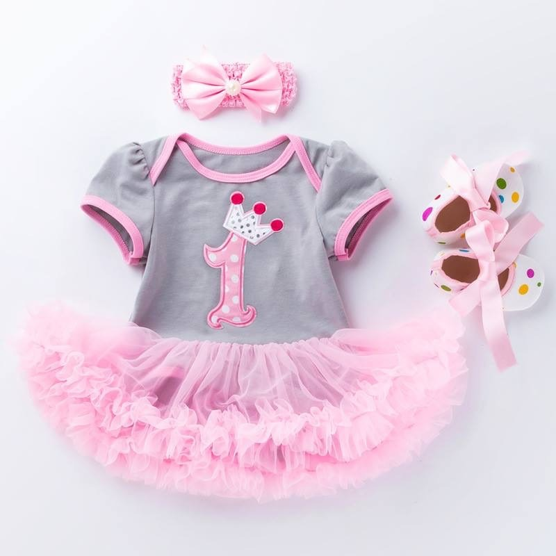 1st Birthday Tutu for Baby and Toddler-2914