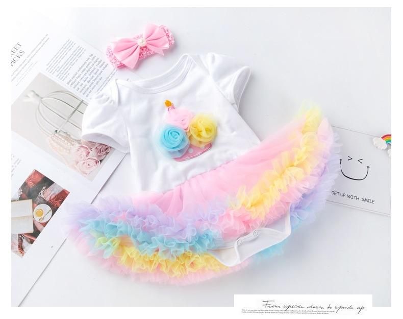 Cupcake Birthday Tutu for Baby and Toddler-0