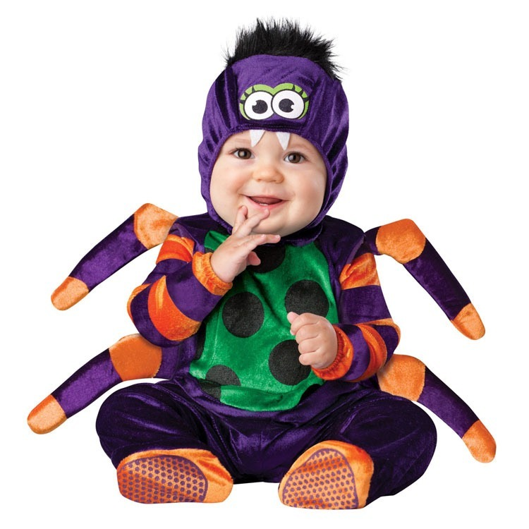 Children's Fancy Dress and Halloween Spider Costume-0