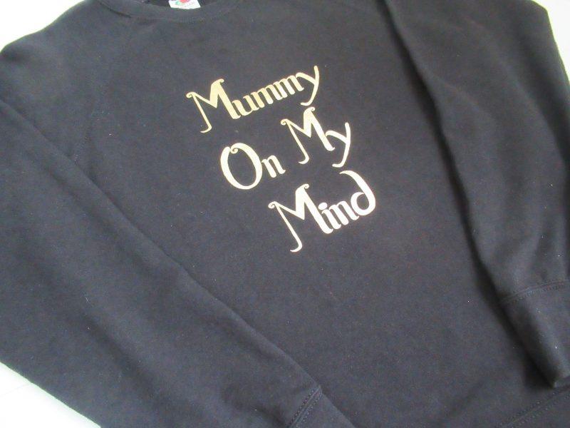 Slogan Sweatshirt (Women)-0