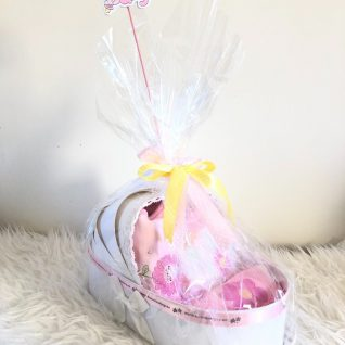 UNICORN BASKET – BABY ESSENTIALS-0