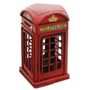 Telephone Box Metal Ornament-0