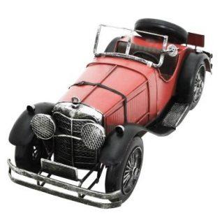 Red Vintage Car-0