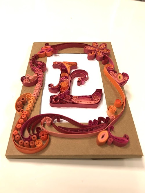 OOC - Lettering Greeting Cards L/ Photo Frame-2503