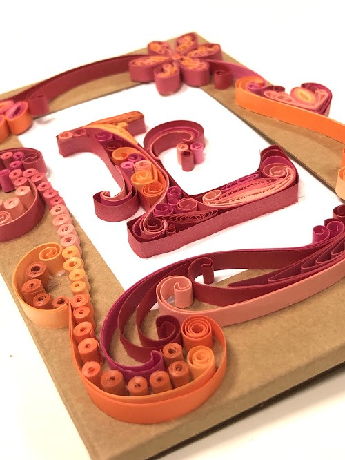 OOC - Lettering Greeting Cards L/ Photo Frame-0