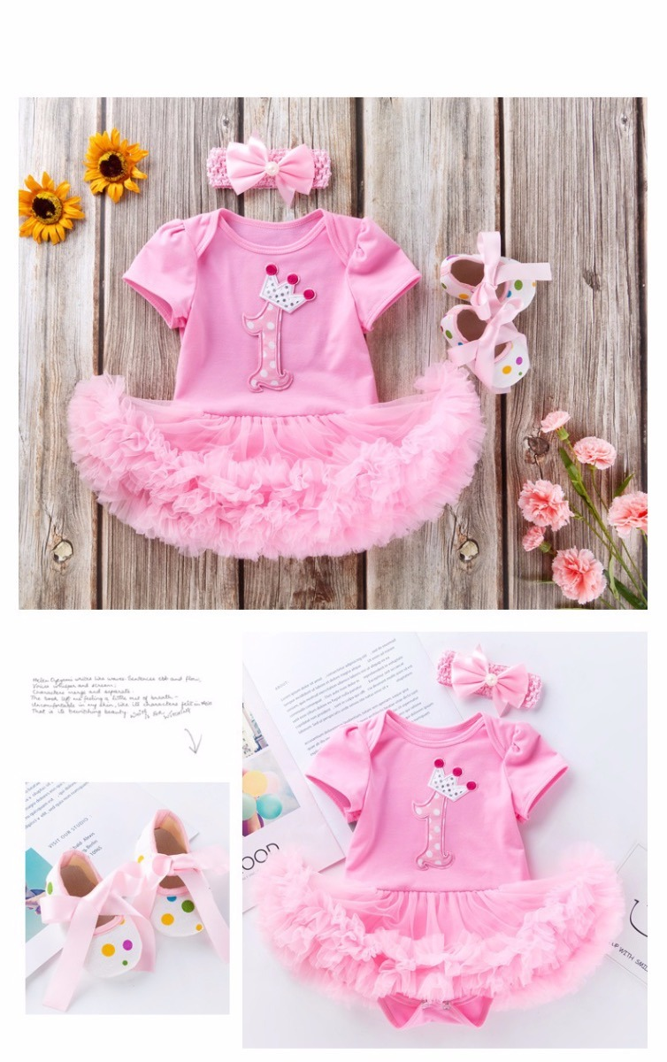 1st Birthday Tutu for Baby and Toddler-2915