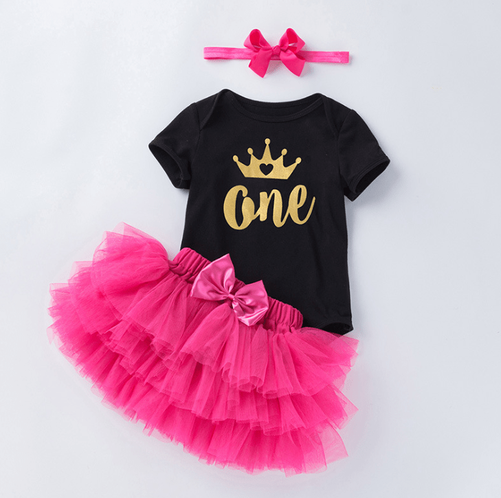 1st Birthday Tutu for Baby and Toddler-0