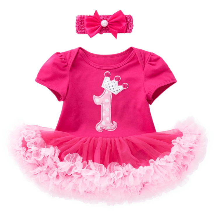 1st Birthday Tutu for Baby and Toddler-2916