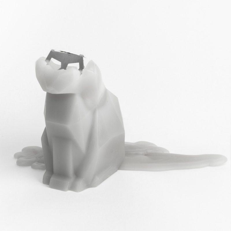 Pyropet Kisa Cat Candle – Pink-2721