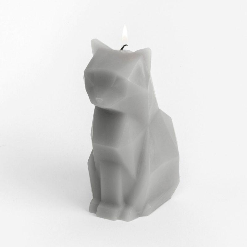 Pyropet Kisa Cat Candle – Pink-2723