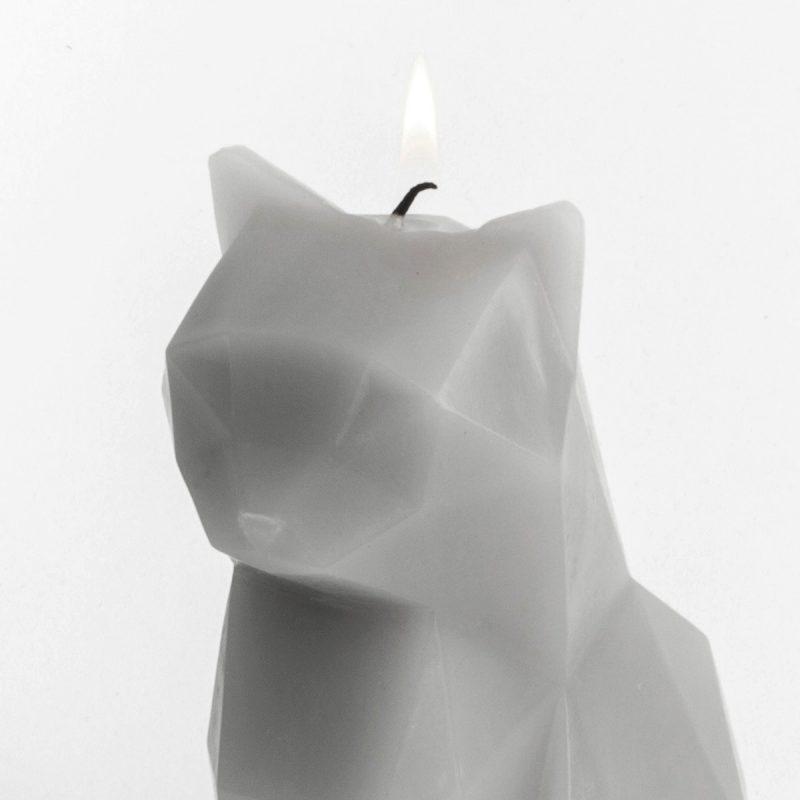 Pyropet Kisa Cat Candle – Pink-0