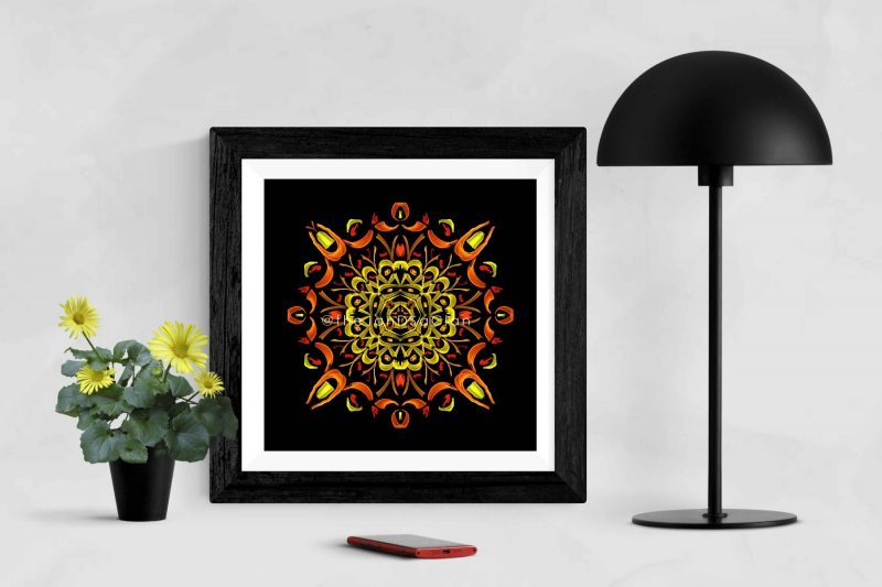 Be Cool - Geometric Art - High Quality Digital Art Prints-2571