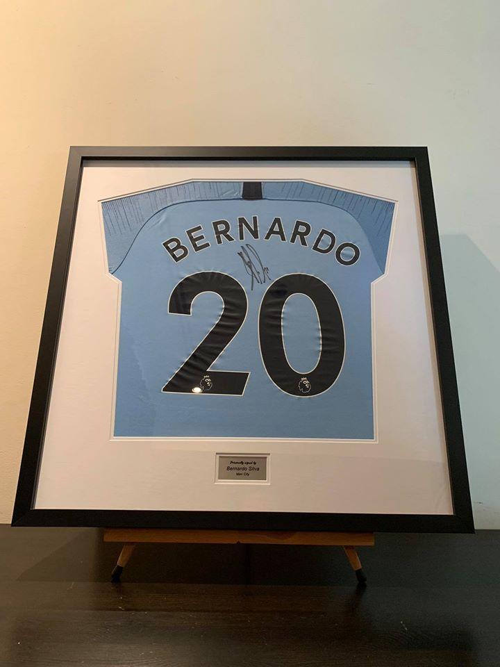 Manchester City FC - Bernardo Silva Signed Shirt-0