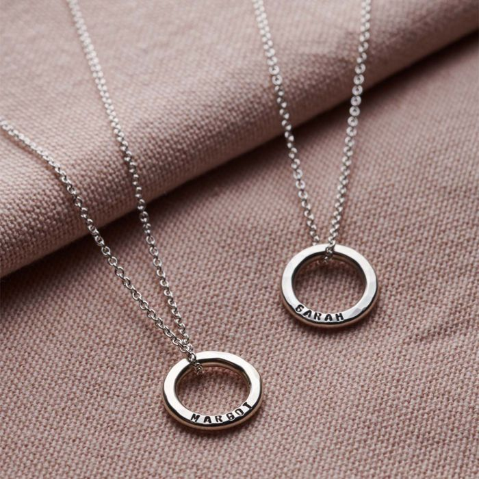 Personalised Mini Message Necklace-1449
