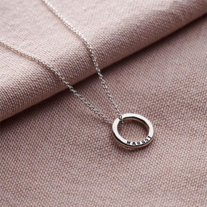 Personalised Mini Message Necklace-1450
