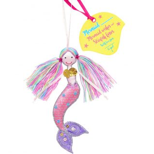 Hanging Mermaid Decoration-0