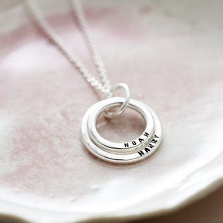 Personalised Baby Names Necklace-0