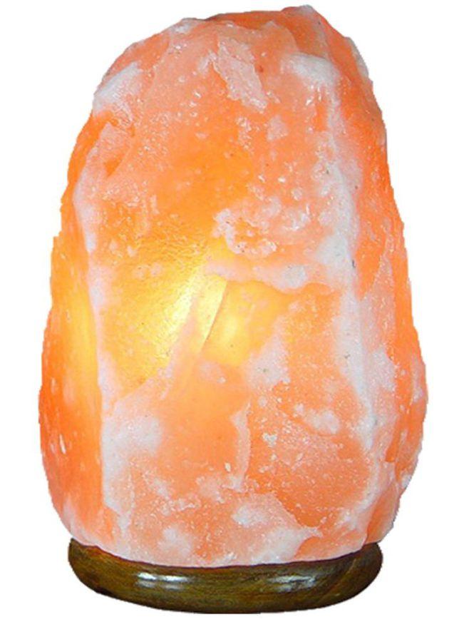 Natural (XL) Himalayan Salt Lamp - Himalayan Salty Treasures-0