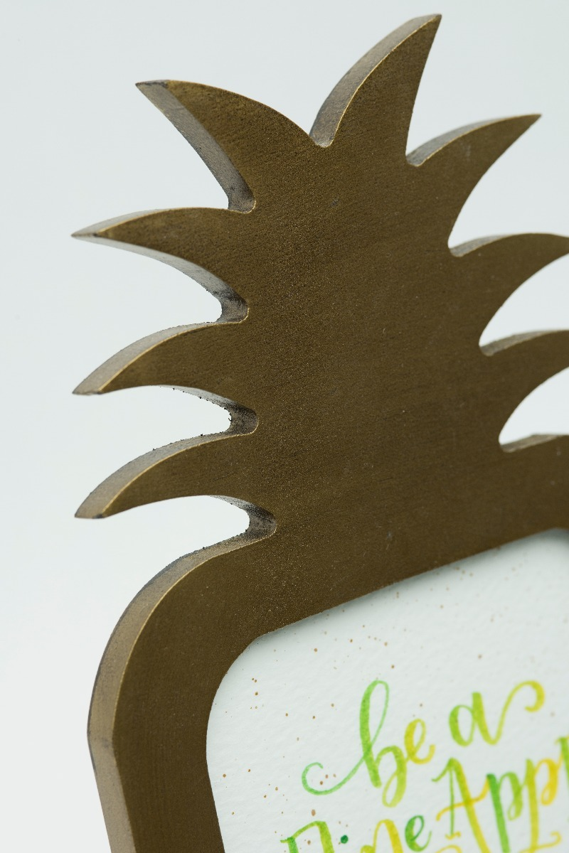 'Stand Tall like a Pineapple' Typography Frame-2301
