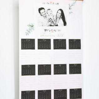 Family Hanging Wall Calendar-0