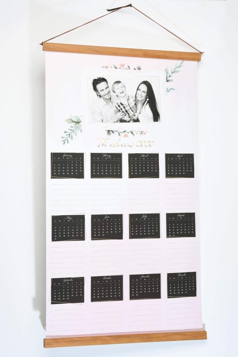 Family Hanging Wall Calendar-0