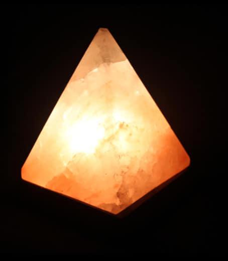 Pyramid Himalayan Salt Lamp-2153