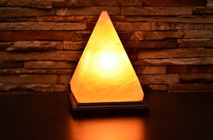Pyramid Himalayan Salt Lamp-2154