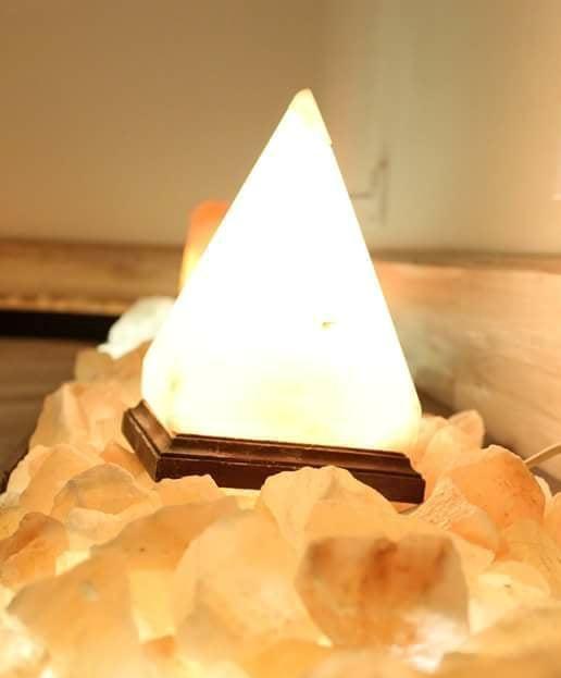 Pyramid Himalayan Salt Lamp-2155