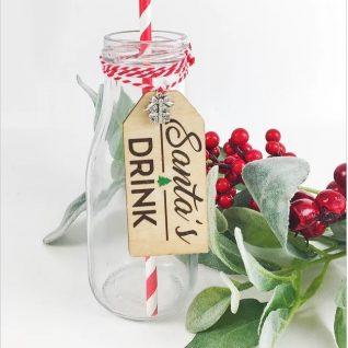 Santa's Milk / Drink Bottle-0