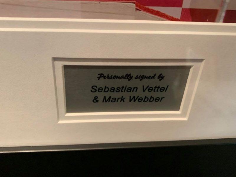 Sebastian Vettel & Mark Webber signed Picture-3072