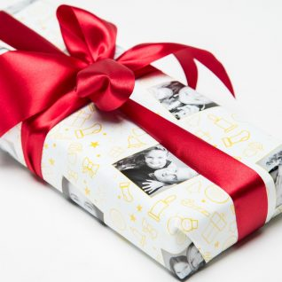 Personalized Christmas Wrapping Paper-0