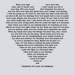 Typography - Lyrics 1-Framed A3 print -Black-0