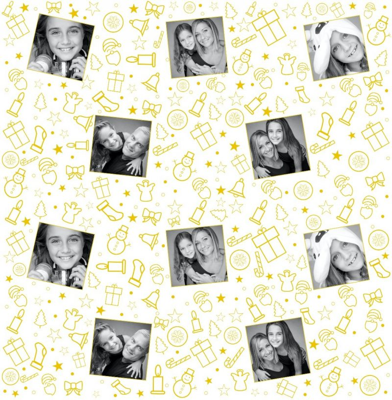 Personalized Christmas Wrapping Paper-2994