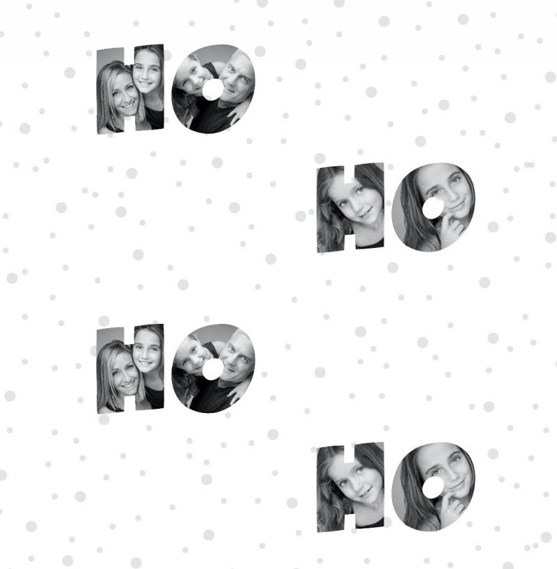 Personalized Christmas Wrapping Paper-2995