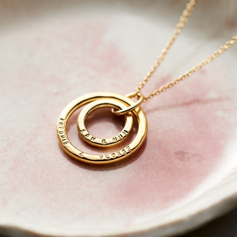 Personalised Mummy And Baby Necklace-1351