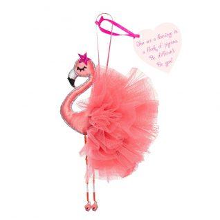 Hanging Flamingo Decoration-0