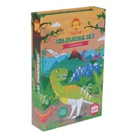 Tiger Tribe Colouring Set - Dinosaur-3266