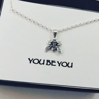 Sterling Silver Bee Charm-0
