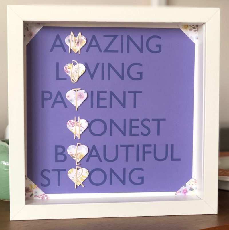 Mother's Day adjectives frame-3171