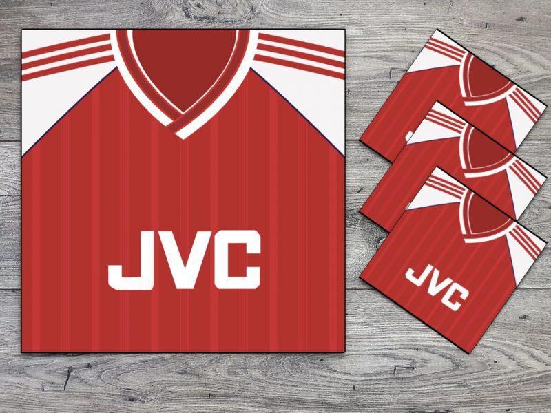 Arsenal 1988 Home Coaster Set-0