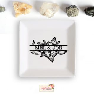 Personalized Jewellery Dish-0