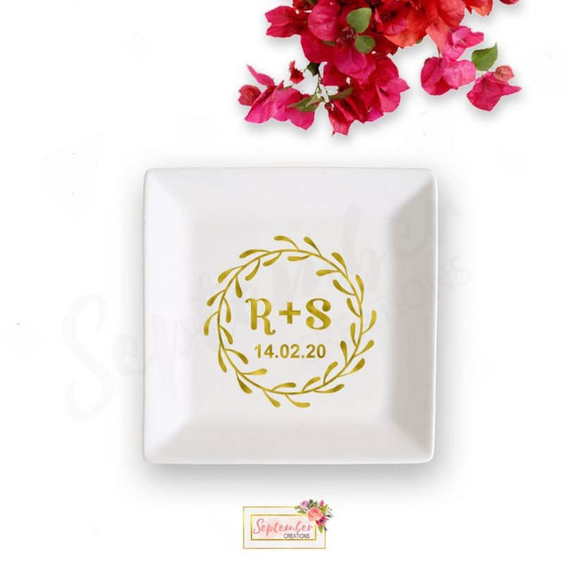 Personalised Jewelry Dish- Engagement-VD03-0