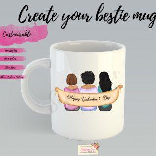 Best Friend Coffee Mug- Galentine's Day-0
