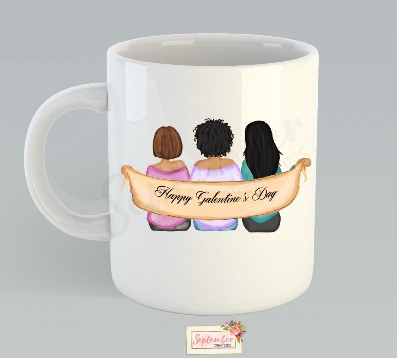 Best Friend Coffee Mug- Galentine's Day-3287