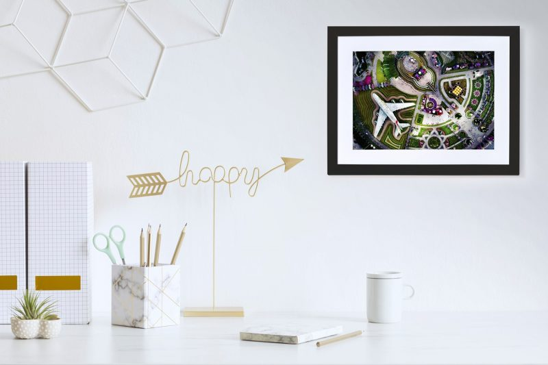 Miracle gardens framed photograph-4259