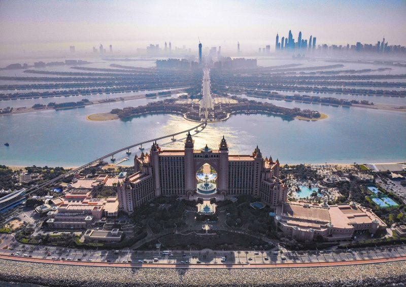The Palm Dubai framed photograph-0