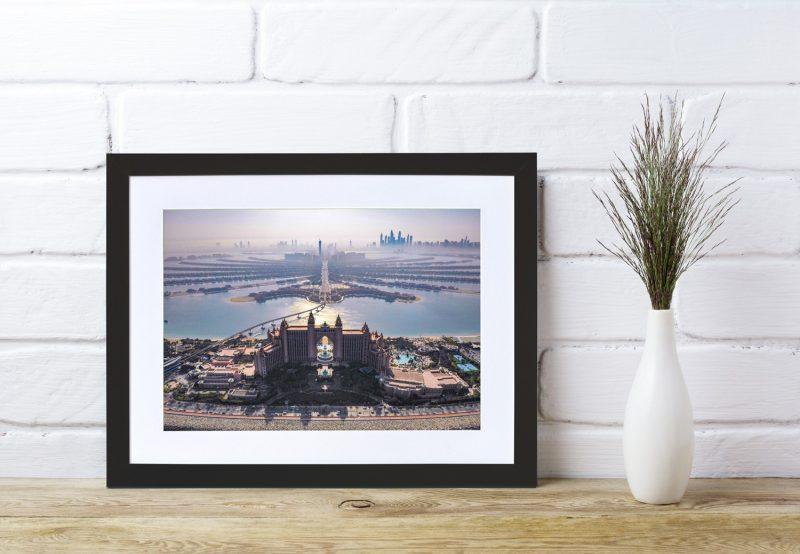 The Palm Dubai framed photograph-4269