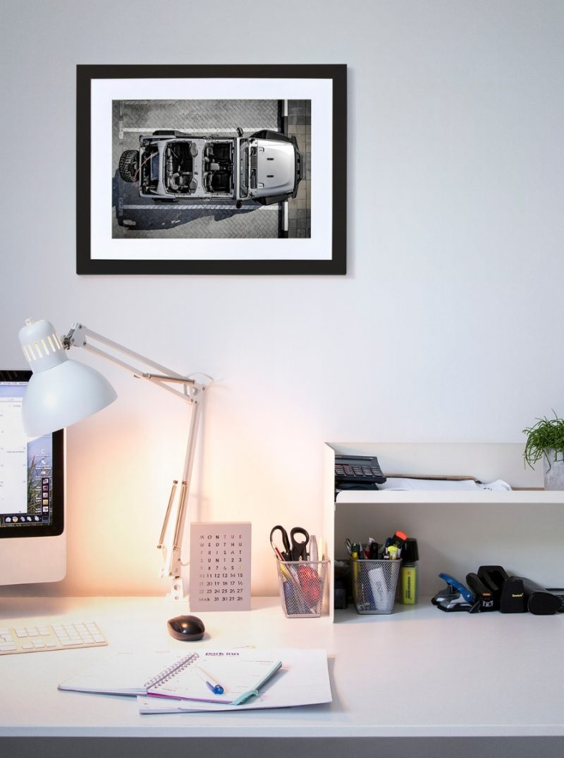Jeep framed photograph-4271
