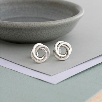 Russian Ring Stud Earrings -3726