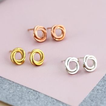 Russian Ring Stud Earrings -3727